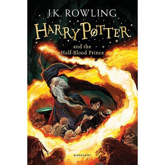 Hình đại diện sản phẩm Harry Potter Part 6: Harry Potter And The Half-Blood Prince (Paperback) - Harry Potter và hoàng tử lai