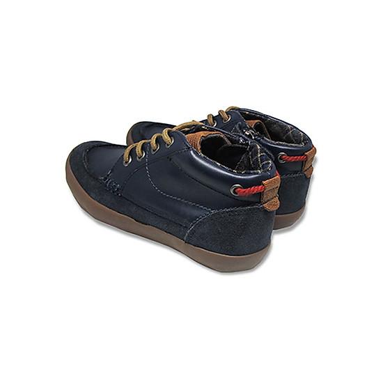 Giày Cổ Lửng Buộc Dây Bé Trai D&A B1604 - Xanh Chàm