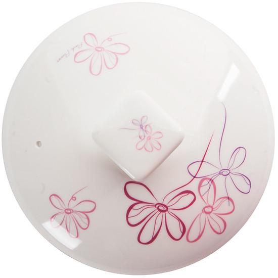 Nồi Đất TUCBEGHI Nắp Hoa Văn Dong Hwa CS 003 - Pink lilac 800ml