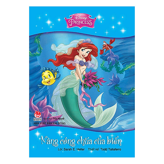 Hình đại diện sản phẩm Tủ Sách Công Chúa Disney - Nàng Công Chúa Của Biển (Tái Bản 2017)