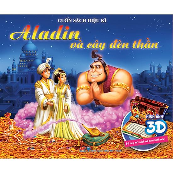 Cuốn Sách Diệu Kì 3D - Aladin Và Cây Đèn Thần (Không Âm Thanh)