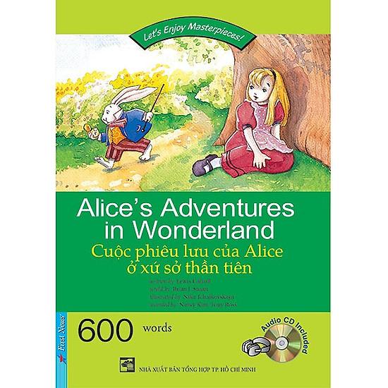 Happy Reader - Cuộc Phiêu Lưu Của Alice Ở Xứ Sở Thần Tiên (Kèm 1 CD) |  Tiki.vn