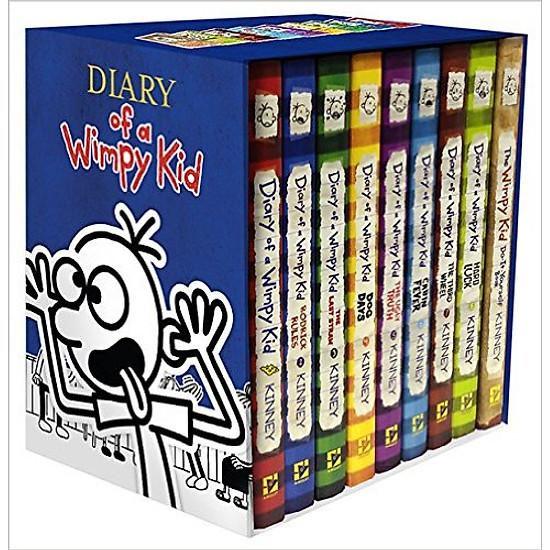 Hình đại diện sản phẩm Diary Of A Wimpy Kid Box Of Books 1 - 10