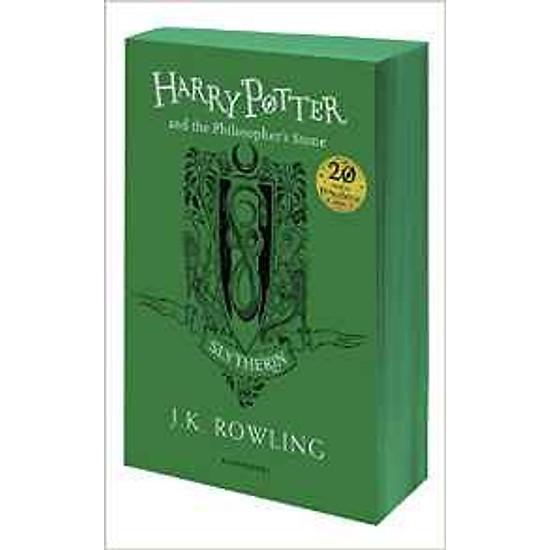 Harry Potter Part 1: Harry Potter And The Philosopher's Stone (Paperback) - Slytherin Edition - Harry Potter và Hòn đá phù thủy