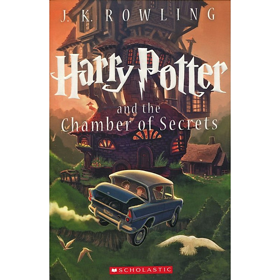 Hình đại diện sản phẩm Harry Potter Part 2: Harry Potter And The Chamber Of Secrets (Paperback) - Harry Potter và Phòng chứa bí mật