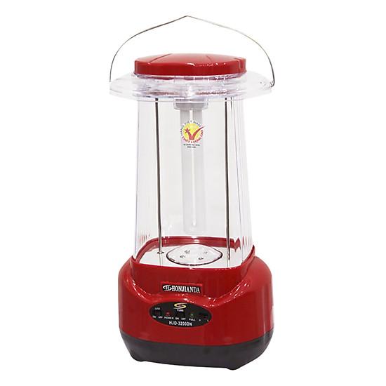 Đèn Sạc Chiếu Sáng Honjianda HJD-3200 LED-N 13W - Đỏ