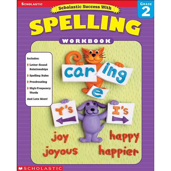 Hình đại diện sản phẩm Scholastic Success With Spelling, Grade 2 (Scholastic Success)