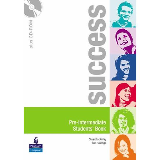 Hình đại diện sản phẩm Success Pre-Intermediate Students Book Pack (Success)