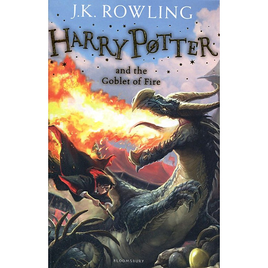 Hình đại diện sản phẩm Harry Potter Part 4: Harry Potter And The Goblet Of Fire (Paperback) - Harry Potter và chiếc cốc lửa