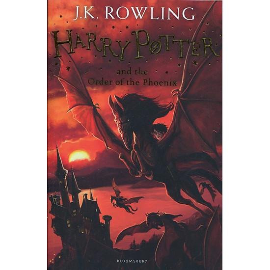 Hình đại diện sản phẩm Harry Potter Part 5: Harry Potter And The Order Of The Phoenix (Paperback) - Harry Potter và Hội phượng hoàng