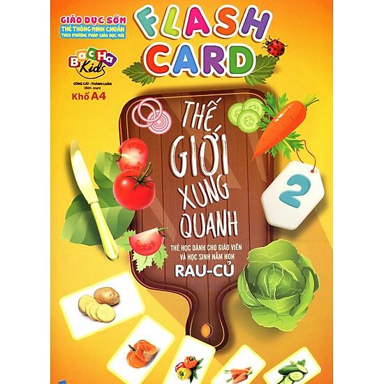 Thumb của hình Flashcard Thế Giới Xung Quanh 2 - Rau Củ