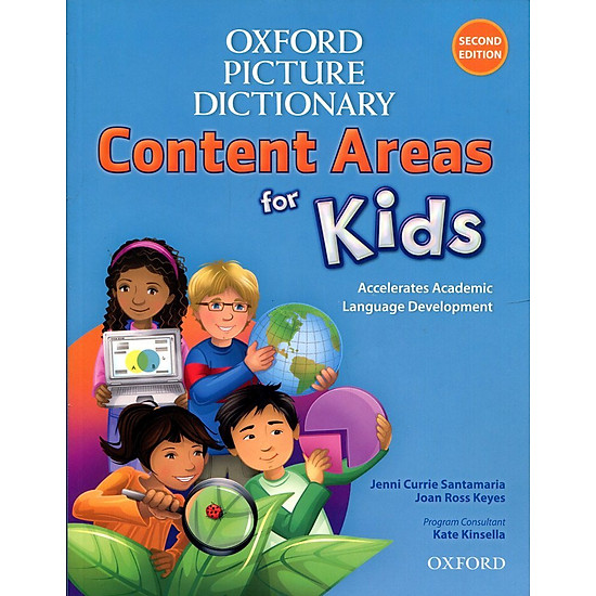 Hình đại diện sản phẩm Oxford Picture Dictionary For Kids - Second Edition: Monolingual English Dictionary Paperback