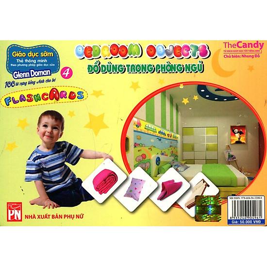 Thumb của hình Flashcard Dạy Trẻ Theo Phương Pháp Glenn Doman - Đồ Dùng Trong Phòng Ngủ