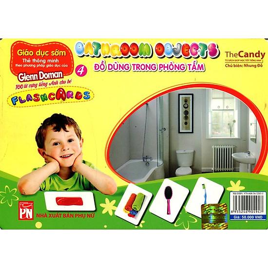 Thumb của hình Flashcard Dạy Trẻ Theo Phương Pháp Glenn Doman - Đồ Dùng Trong Phòng Tắm