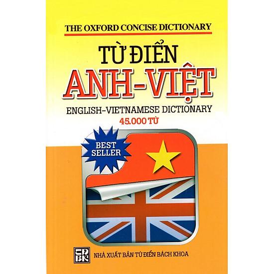 Từ Điển Anh - Việt (45.000 Từ) - Sách Bỏ Túi