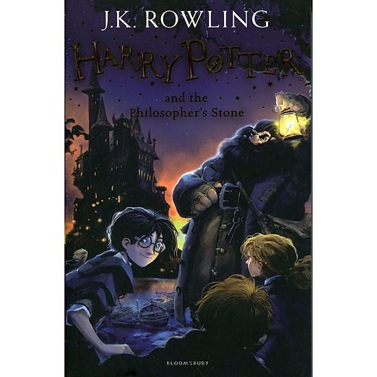 Harry Potter Part 1: Harry Potter And The Philosopher's Stone (Paperback) - Harry Potter và Hòn đá phù thủy