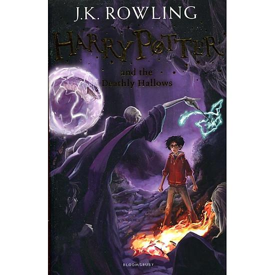 Hình đại diện sản phẩm Harry Potter Part 7: Harry Potter And The Deathly Hallows (Paperback) - Harry Potter và Bảo bối tử thần