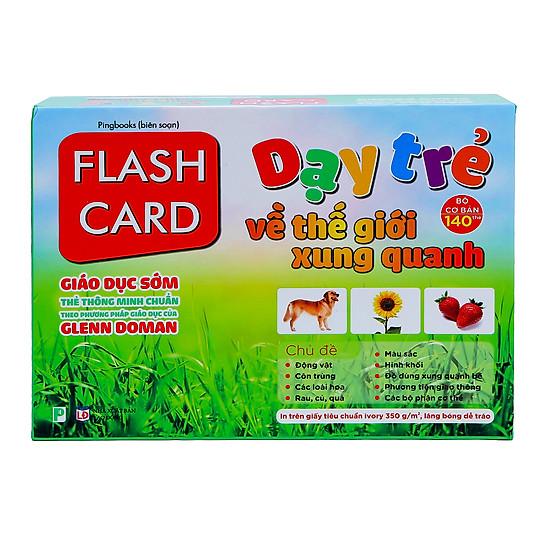 Thumb của hình Flashcard Dạy Trẻ Theo Phương Pháp Glenn Doman - Thế Giới Xung Quanh