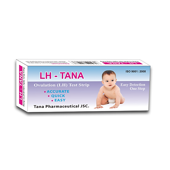 Combo 2 Que Thử Rụng Trứng LH TANA Red Seal LH Ovulation 4 0