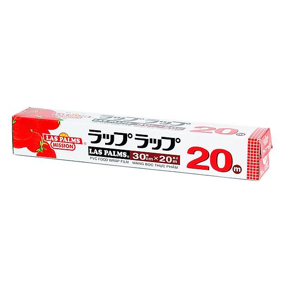 Hình đại diện sản phẩm Màng Bọc Thực Phẩm PVC Laspalms MBTP00070513 - 30cmx20m
