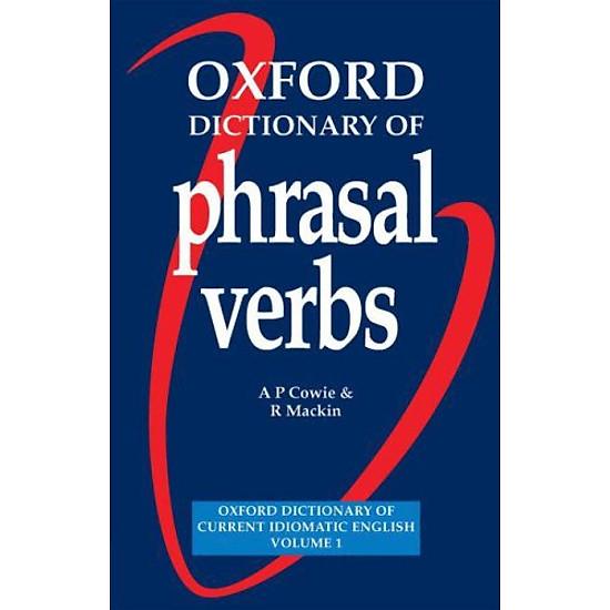 Hình đại diện sản phẩm Oxford Dictionary of Phrasal Verbs