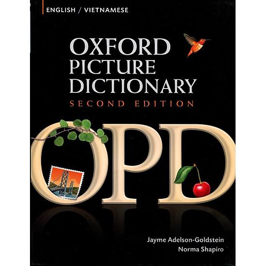 Hình đại diện sản phẩm Oxford Picture Dictionary: English/Vietnamese