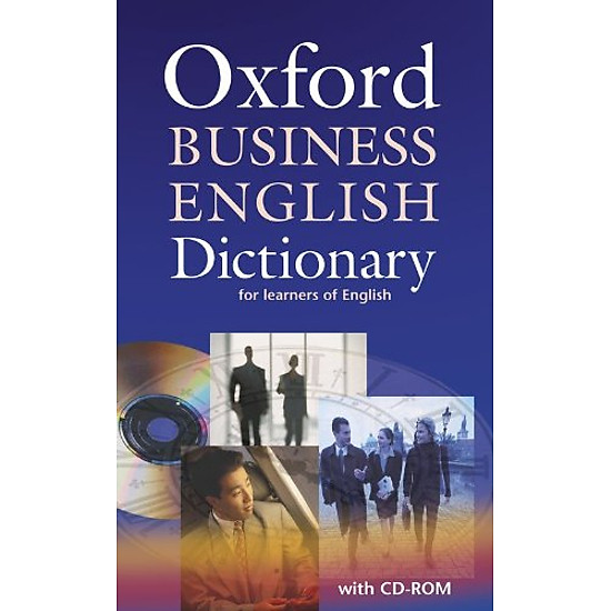 Hình đại diện sản phẩm Oxford Business English Dictionary for learners of English: Dictionary and CD-ROM Pack (Elt)