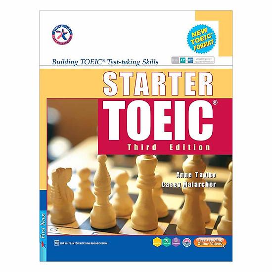Hình đại diện sản phẩm Starter Toeic Third Edition (Kèm 3CD)