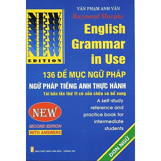 English Grammar in Use - 136 Đề Mục Ngữ Pháp Đơn Ngữ | Tiki vn