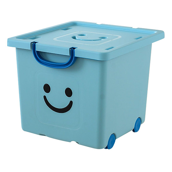 Thùng Nhựa Happy Box Yuwon PS YW-05 - Xanh Da Trời Nhạt (Size Vừa) ...