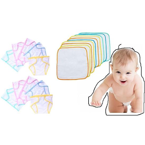 Tả vải bọc bỉm mềm mại cho bé (5 miếng)-2