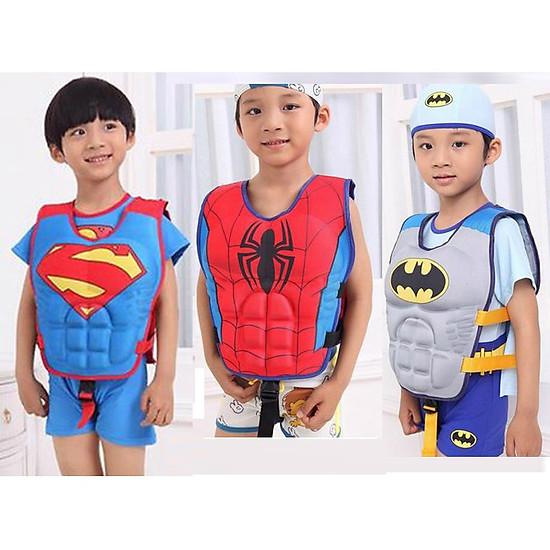 Phao bơi,Áo phao bơi các nhân vật siêu anh hùng Avenger cho các bé 2- 8 tuổi-2