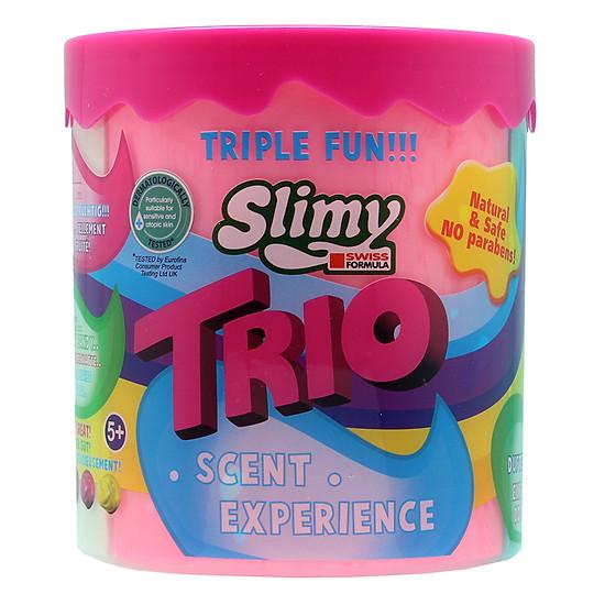 Chất Nhờn Ma Quái Slimy Slime Trio Hũ 3 Màu- Hương Thơm