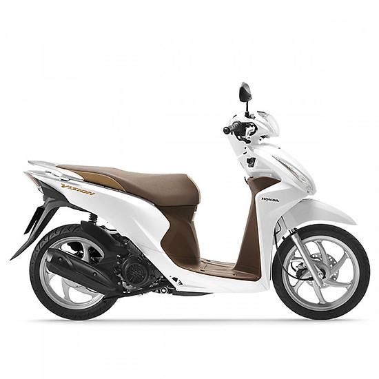 Xe Máy Honda Vision 2019 Phiên Bản Cao Cấp Smart Key Trắng Nâu đen Tặng Nón Bảo Hiểm Bảo Hiểm Xe Máy Thảm Xe Máy