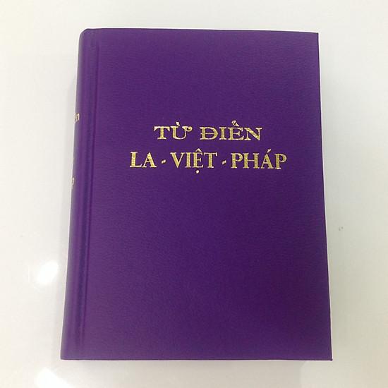 Từ điển Latin – Việt – Pháp (sách cổ hiếm 1960, bản đẹp, bìa giả da)