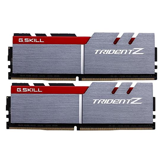 Bộ 2 Thanh RAM PC G.Skill F4-3200C16D-16GTZB Trident Z 8GB DDR4 3200MHz UDIMM XMP - Hàng Chính Hãng