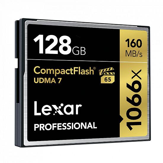 Thẻ Nhớ CF Lexar 128GB Professional 1066x  (160 Mb/s) - Hàng chính hãng