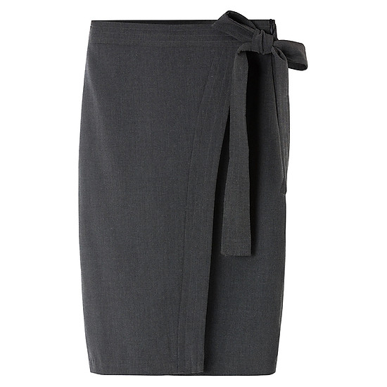4e4362ee0 Chân Váy Ôm Phối Nơ THE COSMO Bow Skirt - Dark Grey | Tiki.vn