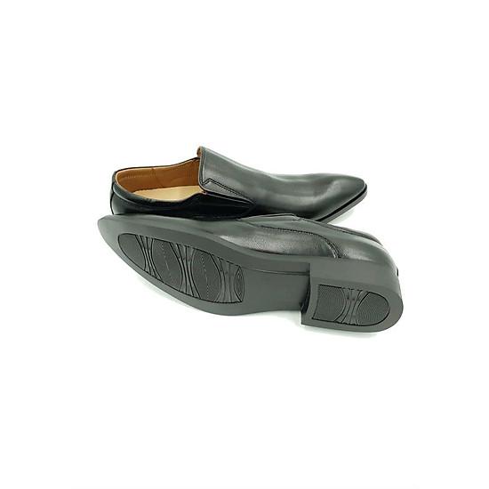 Giày Tây Nam Da Bò Hải Nancy T1742D - Đen