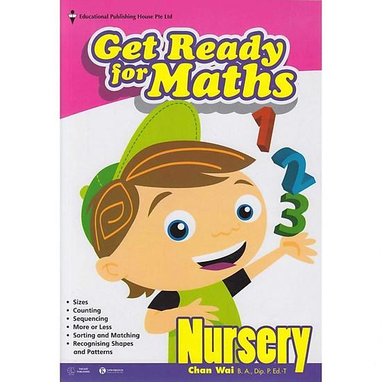 Bộ Sách giáo khoa Toán Singapore lớp mẫu giáo – Get Ready for Maths – Nursery