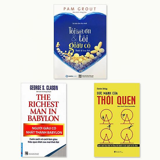 Combo Người Giàu Có Nhất Thành Babylon, Tôi Biết Ơn Và Tôi Giàu Có, Sức Mạnh Của Thói Quen