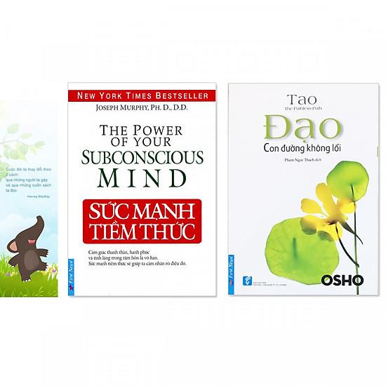 Combo 2 quyển: Sức Mạnh Tiềm Thức + Đạo - Con Đường Không Lối (Tặng kèm bookmark danh ngôn hình voi)