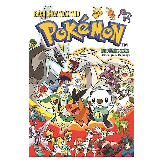 Bách Khoa Toàn Thư Pokémon - Best Wishes Series = 95.000 ₫