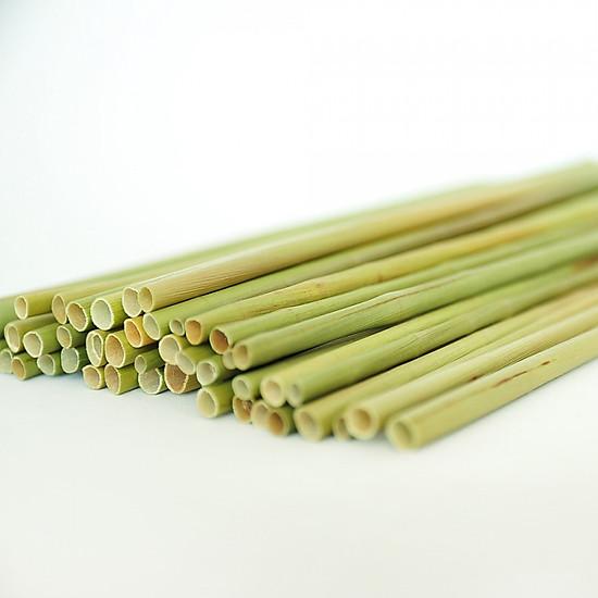 Ống Hút Cỏ Bàng - Túi 500 Ống ( Grass Straw )