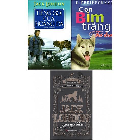 Bộ Truyện Kinh Điển: Tiếng Gọi Của Hoang Dã - Con Bim Trắng Tai Đen - Jack London