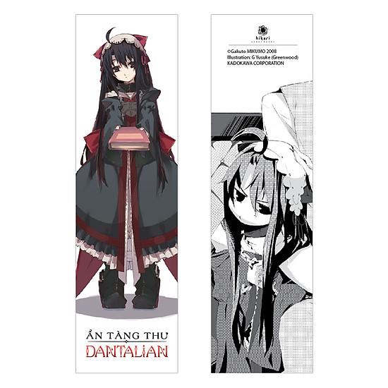 Hình ảnh Ẩn Tàng Thư Dantalian - Tập 3 (Tặng Kèm 1 Bookmark + 1 Poster)