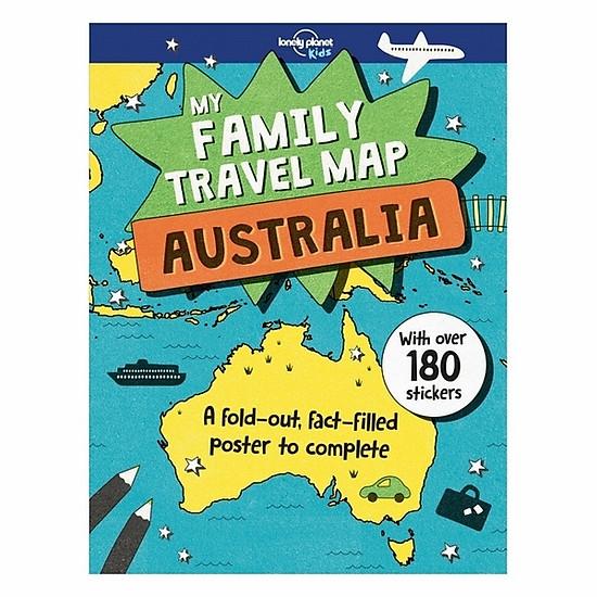 Australia: My Family Travel Map 1