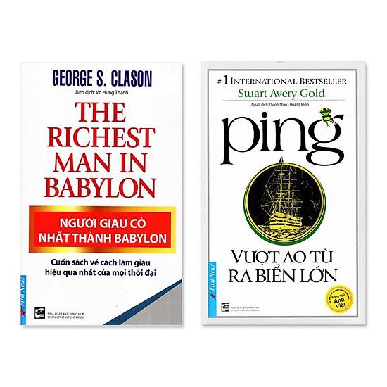 Combo 2 Quyển Người Giàu Có Nhất Thành Babylon, Ping - Vượt Ao Tù Ra Biển Lớn