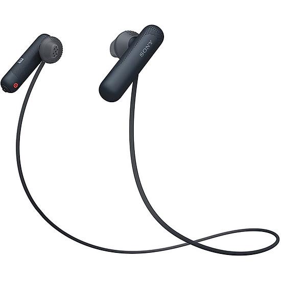 Tai Nghe Bluetooth Nhét Tai Sony WI-SP500/BQ E (Đen)