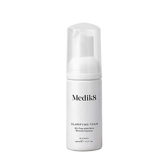 Kết quả hình ảnh cho Sữa rửa mặt Medik8 Micellar Mousse